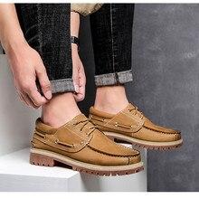 CIMIM/брендовая удобная мужская обувь из натуральной кожи в деловом стиле; большие размеры; Роскошные модные туфли-лодочки; офисные мужские повседневные туфли в стиле ретро