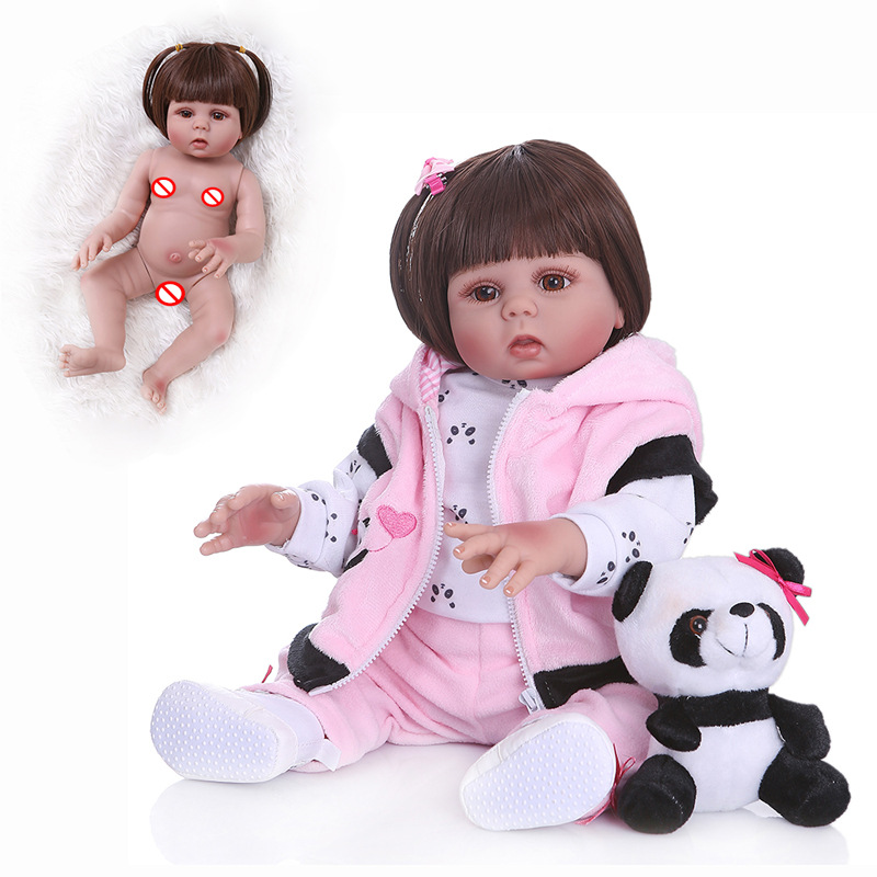 NPK Model Infant Full Body Silica Gel-Water 48 Centimeter Reborn Baby Doll Non-mainstream Supply of Goods