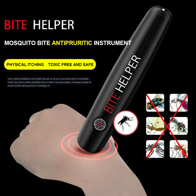 Mosquito Repellent Anti-itch Artifact Anti-itch Pen Anti-mosquito Bites And Anti-itch Heating Touch Pen For Adults Children Home