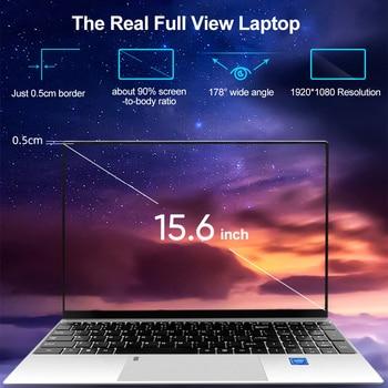 Max RAM 36GB Rom 2TB SSD Ultrabook Metal Computer with 2.4G/5.0G Bluetooth Ryzen R7 2700U windows10 Metal portable gaming laptop 2