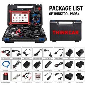 """Image 5 - Thinkcar thinktool prós + carro obd2 ferramenta de diagnóstico 10 """"sistema completo adas código scanner programação em linha pk maxisys maxicom 908 pro"""