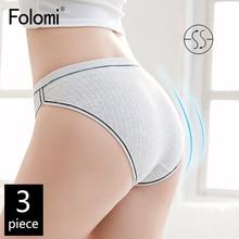Cotton Panties Briefs Comfortable Women's Plus-Size 3pcs/Pack M-To-Xxxxl