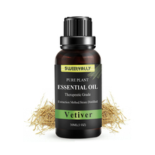 Sweetvally Vetiver 30ML Pure Essential Oils for Orgnaic Body