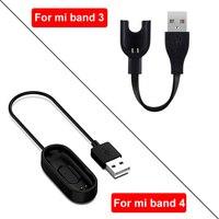 Caricabatterie per Xiaomi Mi Band 2 3 4 cavo di ricambio adattatore cavo di ricarica USB per Xiaomi Mi Band 5 4 3 caricabatterie braccialetto intelligente