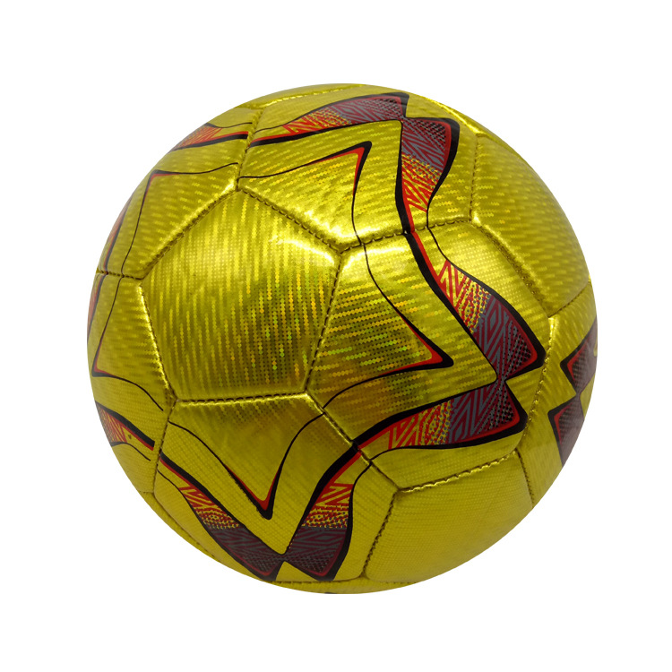 Industry Sports Use A 3-Football High Quality Golden Star Football