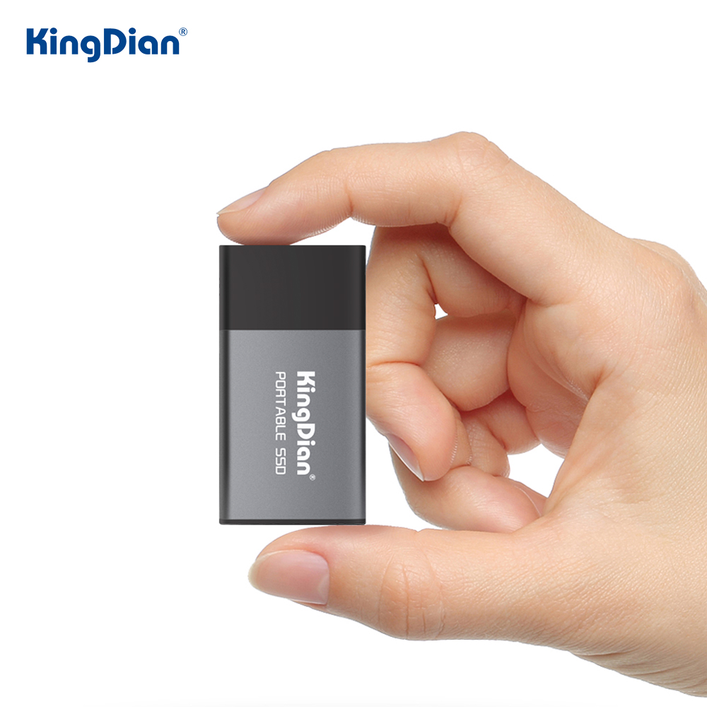 KingDian External SSD 1tb 500gb Hard Drive Portable SSD 120gb 250gb SSD USB 3.0 Type C External Solid State Drives For Laptop