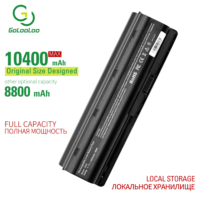 Golooloo 12 cells laptop <font><b>battery</b></font> for Hp <font><b>COMPAQ</b></font> <font><b>Presario</b></font> CQ630 CQ43-300 CQ72 CQ430 CQ32 CQ42  CQ43 CQ57 CQ56 <font><b>CQ62</b></font> CQ43-100 image