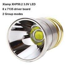 26,5mm XHP50.2 3V 2600 lúmenes LED Bombilla drop-En XHP50 casquillo de la lámpara para C2 Z2 P60 P61 6P 9P 9P M5 M6 WF-501B WF-502B linterna antorcha