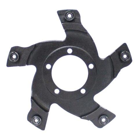 Adaptador de Engrenagem para Bafang Kits de Conversão de Bicicleta Chainring Aranha Bbs03b Bbshd Mid-drive Motor Elétrica 130 Bcd G320