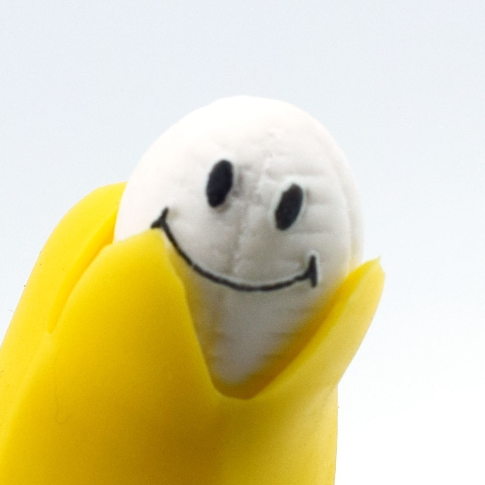 Squeeze Toy Banana Stress Reliever Prank Happy-Face Funny Gift Slow Rising Kids img4
