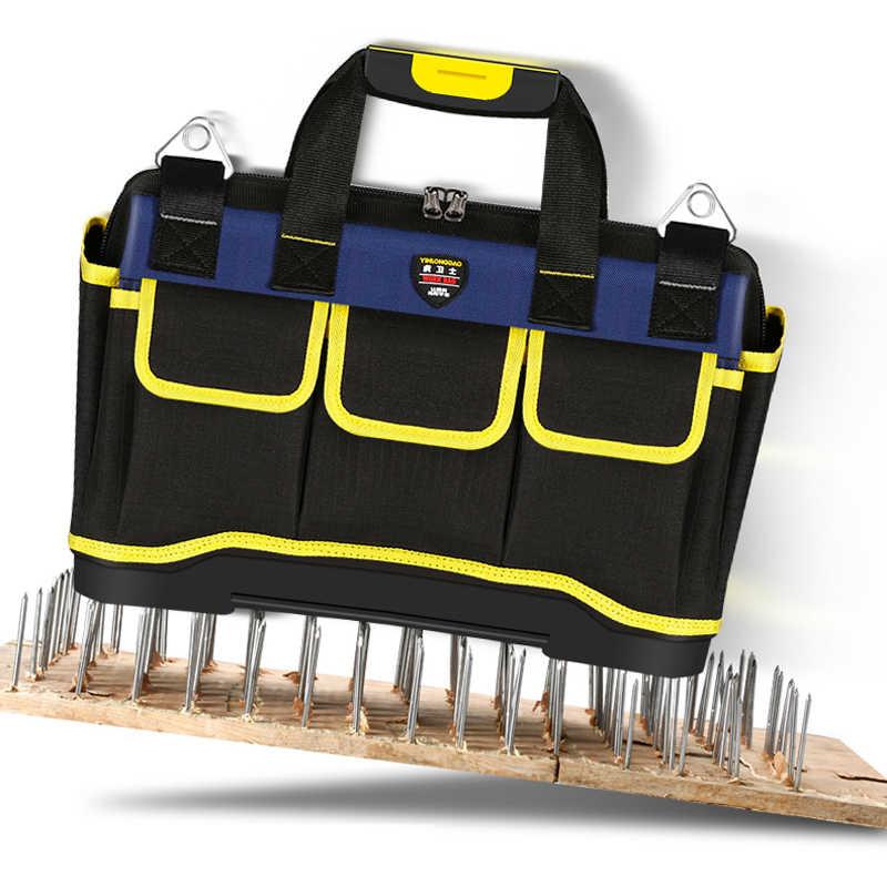 Multifunctionele Tool Tas Grote Capaciteit Dikker Professionele Reparatie Tools Tas 13/16/ 18/20 Toolkit Zak