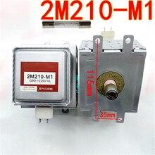 Магнетрон для микроволновой печи с высоковольтным предохранителем 2M210 M1, запасные части для микроволновой печи, отремонтированные OM75S(31)