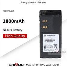 HNN9008A Compatible Batterie NI-MH avec GP328 GP338 HNN9008 HNN9008A HNN9008AR HNN9008H HNN9009 HNN9012 Radios Bidirectionnelles DC 7.2V