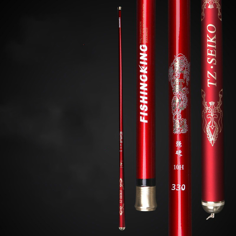 Super Light Hard Carbon Fiber Hand Pole Black Pit Telescopic Fishing Rod 1.8M/2.1M/2.4M/2.7M/3.0M/3.3M Taiwan Wedkarstwo Olta