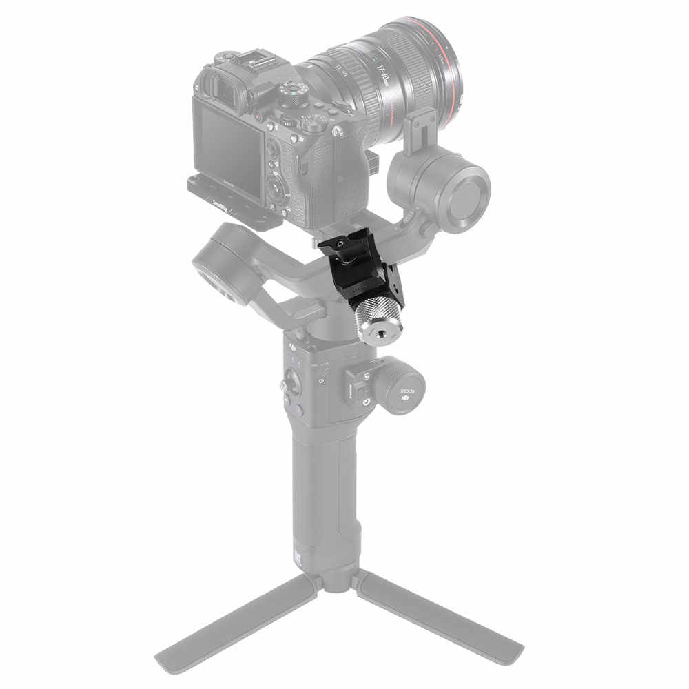 SmallRig Voor BMPCC 4K Camera Contragewicht Montage Klem Voor DJI Ronin-S/Ronin-SC en Zhiyun weebill/Kraan Serie Gimbals-2465