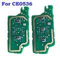 Carte de clé à distance pour Peugeot 207 208 307 308 408 partenaire CE0536 ASK 433MHz PCF7961 puce pour citroën PCB 2 3 boutons