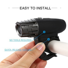 Bike Lights Bicycle Lights Front and Back USB Rechargeable Bike Light Set Super Bright Front and Rear Flashlight LED Headlight super bright bike front light usb rechargeable 15000lm xml t6 led bike bicycle light headlight cycle flashlight bike accessories