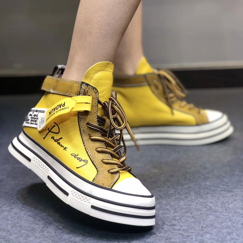 Ladies Fashion Leisure Shoes 2021 High Quality Brand Shoes Sneakers Joker's Leather Shoes
