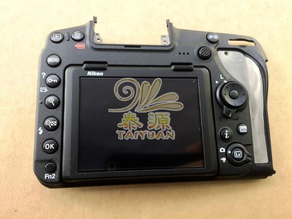 New Touch Lcd Display Screen Assy With Back Cover And Lcd Hinge Repair Parts For Nikon D850 Slr Clear And Distinctive