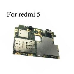 100% testowana pełna praca oryginalna płyta główna odblokowująca dla xiaomi Redmi 5 pełna praca dla płyty głównej xiaomi Redmi 5