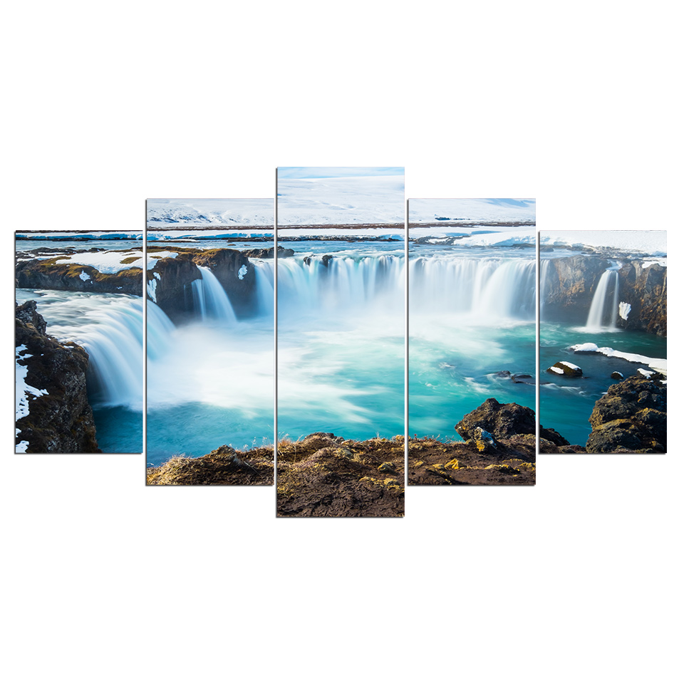H880d0857d6d24b0bb310759ae6aeb412j Canvas HD Prints Paintings Wall Art Home Decor 5 Pieces Welcome Dropshipping Wholesale We Can Provide All The Pictures