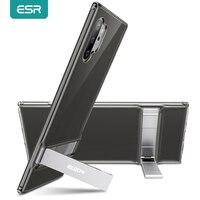 ESR-funda de Metal para Samsung Galaxy Note 10, carcasa con soporte, S10 e Plus, 5G