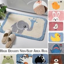 Cartoon Plush Shaggy Mat Fluffy Area Rug Bathroom Thick Cute Washable Soft Floor Carpet Kids Room Play Home Decor D25