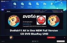 DVDFab-Activé-duré de vie, portátil, 11-Versión completa para Windows