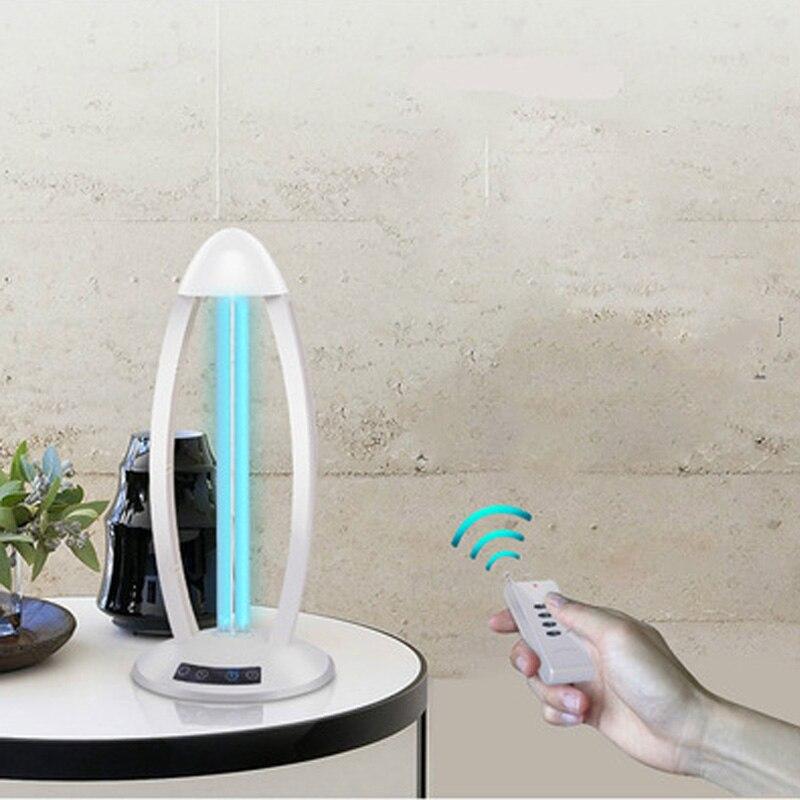 110V-220V UV Lamp UV Germicidal Disinfection Lamp In Addition To Mite Table Lamp Disinfection Lamp Tube Mobile Ozone UV
