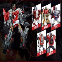 Transformação novo design bruticus devastator defender superion figura brinquedos
