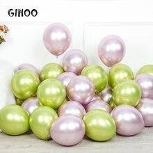 Gihoo 50 / 100 шт 12 дюймовое металлическое латексный шар светильник