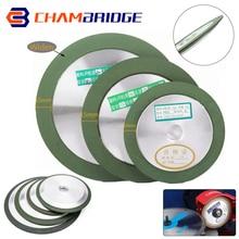 Diamond Grinding Wheel 100mm/125mm/150mm Circle Cutting Discs Grit 150-400 For Tungsten Steel Milling Cutter Sharpener Grinder