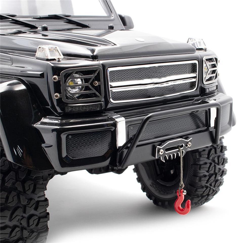Zuolan metallo paraurti posteriore con 2PCS grilli//per rimorchio per Traxxas TRX4/1//10TH RC auto Crawler