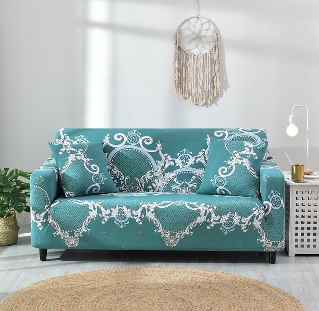 Sofa cover elastic combination non slip sofa cover living room sofa cover L shaped armchair cover