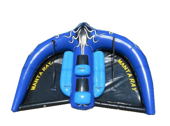 Water Sports Toy Inflatable Flying Manta Ray/inflatable Flying Fish Manta Ray For Water