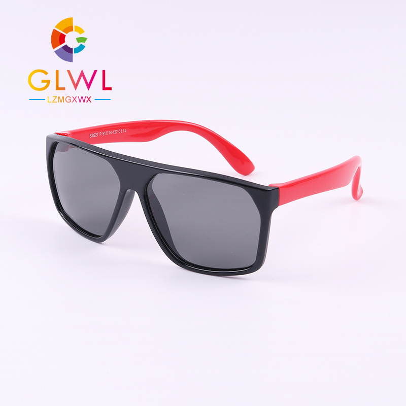 New Sunglasses Baby Polarized Boys Girls Fashion Sun Glasses Kids Soft Frame UV 400 Eyeglasses Children's Shades Outdoors Sports