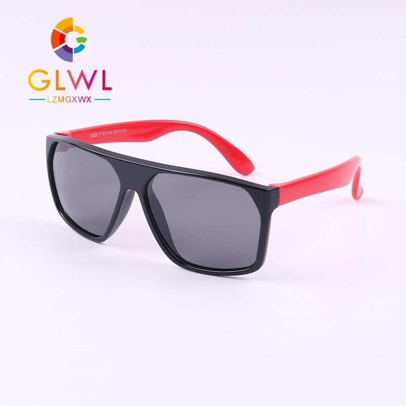New Sunglasses Baby Polarized Boys Girls Fashion Sun Glasses Kids Soft Frame UV 400 Eyeglasses Children's Shades Outdoors Sports