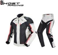 Fantasma de corrida da motocicleta jaqueta masculina à prova dwaterproof água moto jaqueta equitação engrenagem protetora outono inverno corrida roupas moto|Jaquetas| |  -
