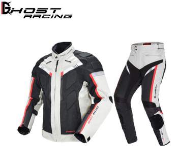 GHOST RACING Motorcycle Jacket Men Waterproof Moto Jacket Riding Protective Gear Autumn Winter Racing Motorbike Clothing motorcycle jacket men summer moto protective gear jacket men racing reflective oxford clothing motorbike jackets