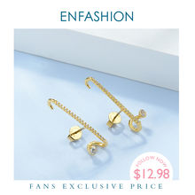 Enfashion Панк горный хрусталь серьги гвоздики для женщин заявка