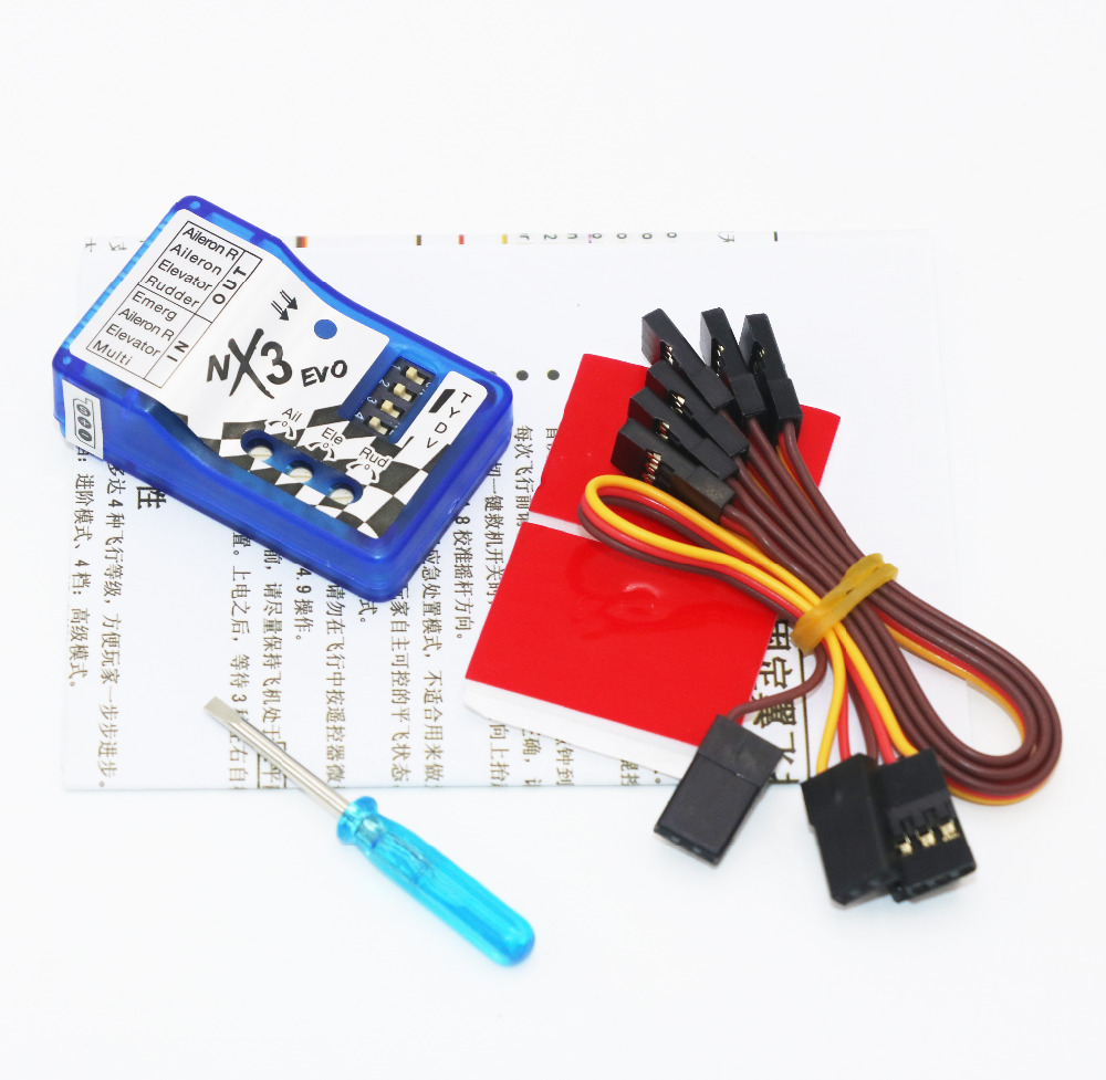 Upgrade-NX3 Evo N6 V2 Flight Control Board A Key Save Machine Automatic Balance 2D 3D Flight Control System
