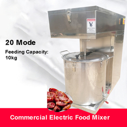 10kg Capacity Multifunction Food Mixer Stainless Steel Commercial Automatic Electric Dumpling Filling Stirring Machine 20 Model