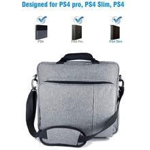 Bolso nuevo para PS4/PS4 PRO, protector de hombro, funda de lona para PlayStation 4, Consol, multifunción