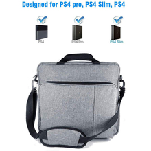 NEW Handbag for PS4/PS4 PRO slim Original size Protect Shoulder Carry Canvas Case for PlayStation 4 Consol Multifunction Bag