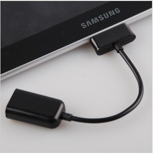 Adapter cable OTG cable <font><b>Usb</b></font> female Data cable for <font><b>Samsung</b></font> tablet P7510 P7500 <font><b>P5100</b></font> N8000 N8010 P739 image