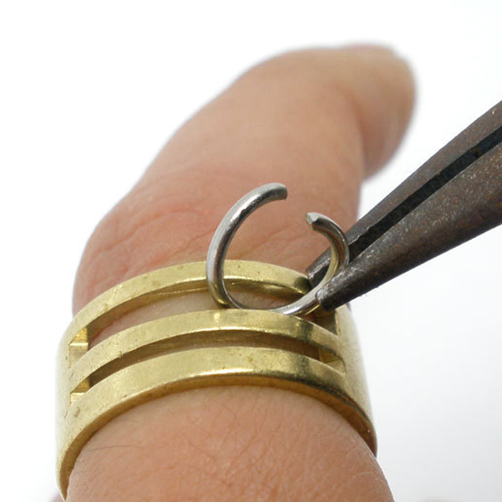 Hot Sale 2Pcs Brass Jump Ring Opener Closing Tool Finger DIY Jewelry Making Finding Tool Jewelry Accessories  New Arrival