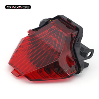 Para yamaha MT-07 FZ-07 14-17  MT-25 MT-03 yzf r3 r25 2014-2020 integrado led luz da cauda pisca indicador de freio da motocicleta