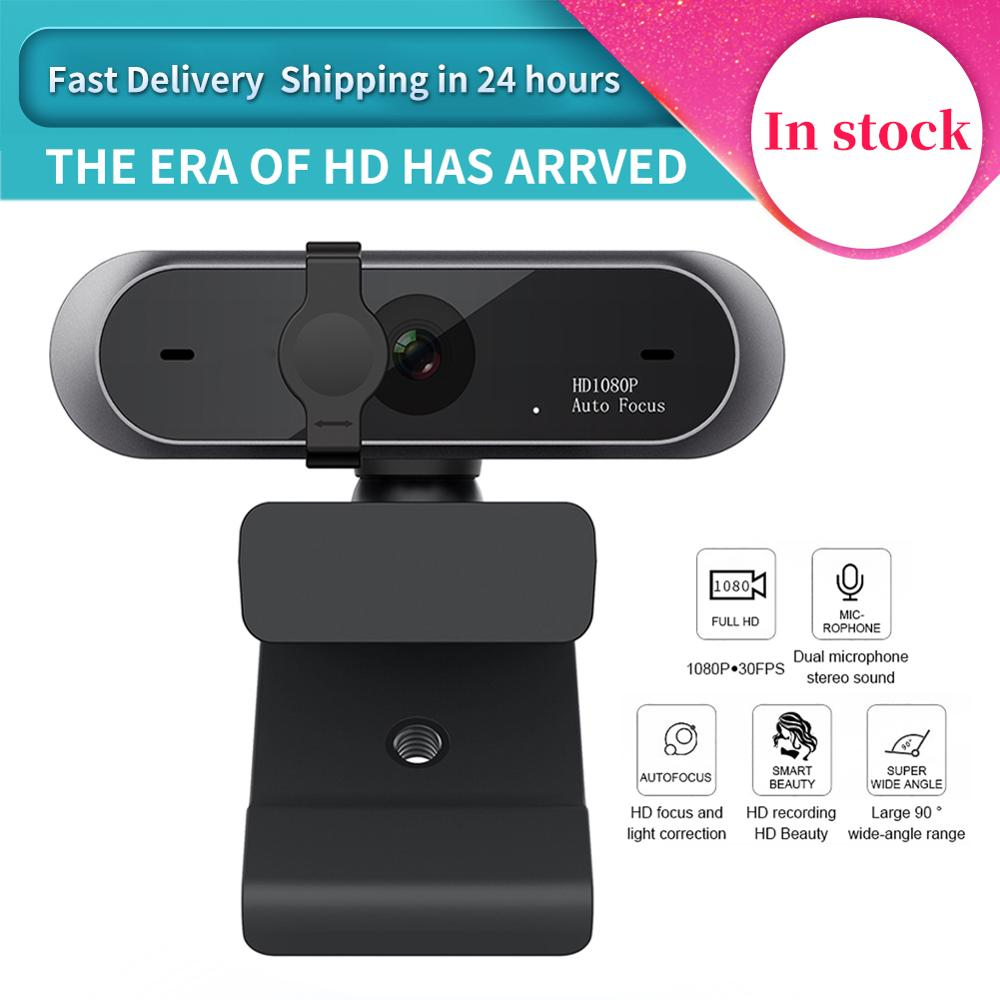 M9 HD 1080P Mini Webcam Computer WebCamera Anti-peeping Rotatable Camera For Youtube PC Live Broadcast Video Conference Work