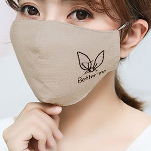 Cotton Dust Mask Fashion Couple Seamless Outdoor Riding Quick-drying Dustproof Keep Warm Mask Face Respirator Anti Kpop Bear 4