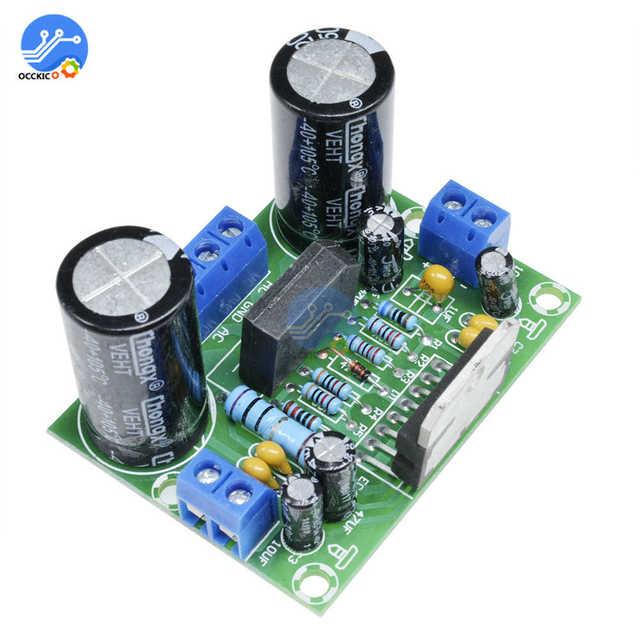 Amplificador operacional do módulo da placa do orador da c.a. 12 50v 100w da placa do amplificador tda7293 mono audio digital tablero